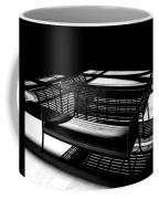 Bench Shadows Coffee Mug