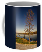 Lonely Friends - Bench And Tree Coffee Mug