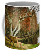 Bench With A View Coffee Mug