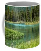 Bend In Mistaya River Coffee Mug