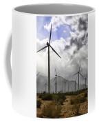 Beneath The Clouds Palm Springs Coffee Mug