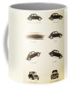 Benefits Of A Volkwagen Coffee Mug by Georgia Fowler