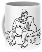 Benito Mussolini Cartoon Coffee Mug
