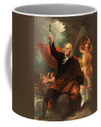 Benjamin Franklin Drawing Electricity From The Sky Coffee Mug