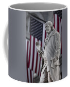 Benjamin Franklin Coffee Mug by Eduard Moldoveanu