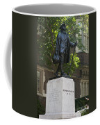 Benjamin Franklin Statue University Of Pennsylvania Coffee Mug