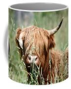 Bent Horn Long Horn Coffee Mug