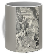 Beowulf Finds The Head Of Aschere Coffee Mug