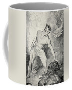 Beowulf Shears Off The Head Of Grendel Coffee Mug by John Henry Frederick Bacon