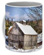 Berkshire Barn In Winter Coffee Mug
