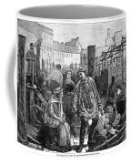 Berlin Fish Market, 1874 Coffee Mug