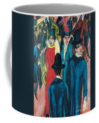 Berlin Street Scene Coffee Mug