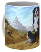Bernese Mountain Dog Coffee Mug by Rick Bainbridge