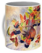 Berry Harvest Still Life Coffee Mug