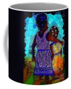 Best Friends Mosaic Coffee Mug