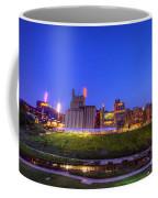 Best Minneapolis Skyline At Night Blue Hour Coffee Mug