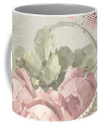 Best Wishes Vintage Roses Card  Coffee Mug