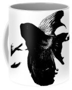 Beta In Black And White Coffee Mug