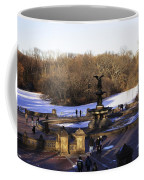 Bethesda Fountain 2013 - Central Park - Nyc Coffee Mug by Madeline Ellis