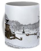 Bethesda Fountain In Central Park Coffee Mug by Susan Candelario