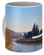 Bethlehem Steel And The Lehigh River Coffee Mug