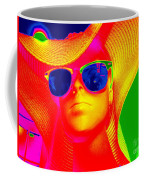 Betsy In Blue Sunglasses Coffee Mug