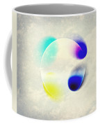 Between Clouds Digital Art Coffee Mug