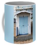 Bexhill Beach Hut Coffee Mug