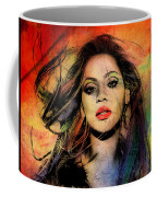 Beyonce Coffee Mug by Mark Ashkenazi
