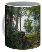 Beyond The Rock Fence Coffee Mug by Roger Potts