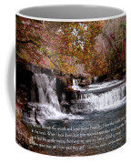 Bible Verse And Inspirational Greeting Card Autumn Fine Art Photography Prints And Posters. Coffee Mug