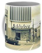 Biblioteca Cubana Coffee Mug