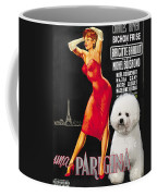 Bichon Frise Art - Una Parigina Movie Poster Coffee Mug