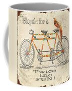 Bicycle For 2 Coffee Mug