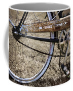 Bicycle Gears Coffee Mug by Debra and Dave Vanderlaan