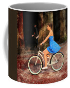Bicycle Girl 1c Coffee Mug