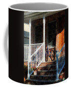 Bicycle On Porch Coffee Mug