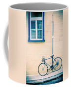 Bicycle On The Streets Of Old Quebec City Coffee Mug
