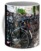 Bicycle Parking Lot Coffee Mug