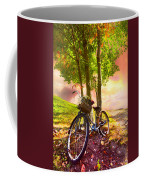 Bicycle Under The Tree Coffee Mug