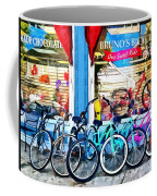 Bicycles And Chocolate Coffee Mug
