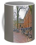Bicycling To Church Coffee Mug