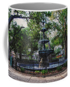 Bienville Square Fountain Closeup Coffee Mug