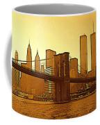 New York City - Big Apple Sunrise Coffee Mug