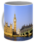 Big Ben And Westminster Bridge Coffee Mug