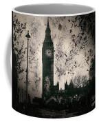 Big Ben Black And White Coffee Mug