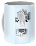 Big Bird Snow Sculpture Coffee Mug