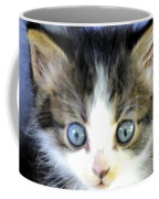 Big Blue Eyes Coffee Mug