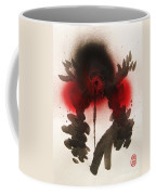 Big Crow Black And Spiky Coffee Mug