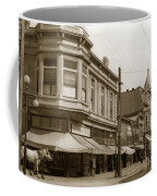 Big Curio Store Santa Cruz At 28 Pacific Avenue On The Corner Of Lincoln And Pacific. 1908 Coffee Mug